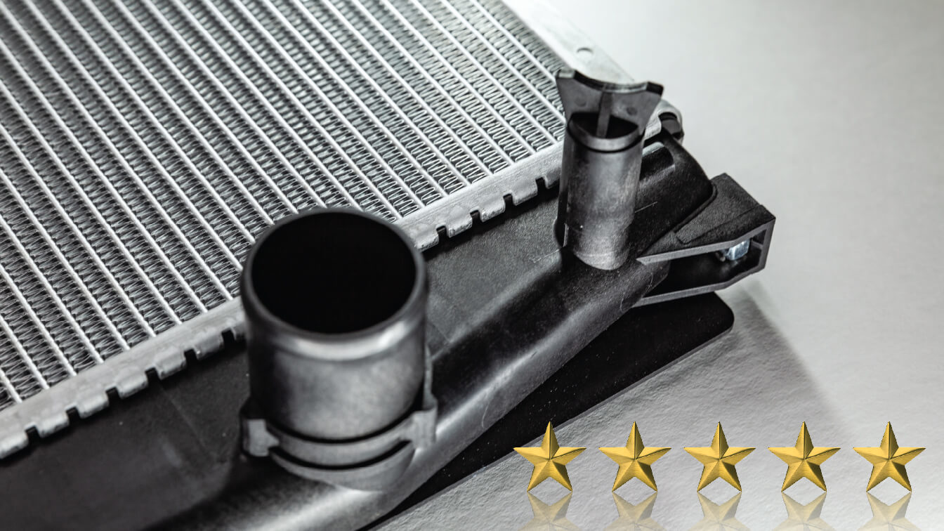 Choose Toyota Genuine Radiators and Condensers for Five-Star Performance