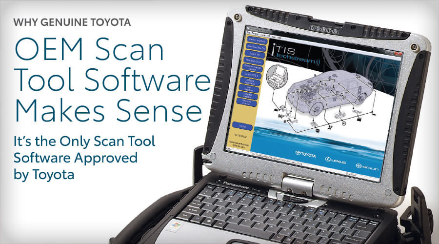 Why Genuine Toyota OEM Scan Tool Software Makes Sense
