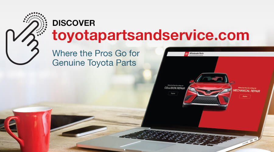 Discover toyotapartsandservice.com