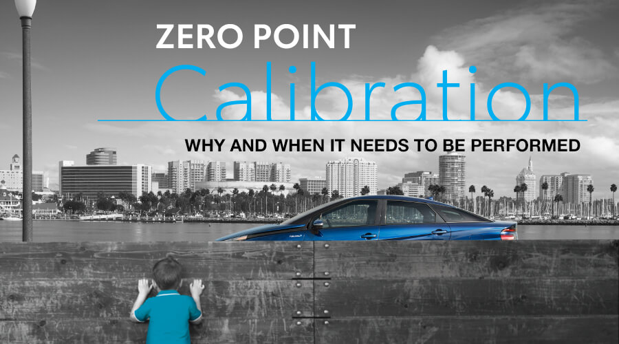 ZERO POINT Calibration - Toyota Parts and Service