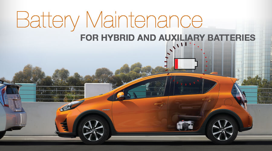 Battery Maintenance for Hybrid and Auxiliary Batteries