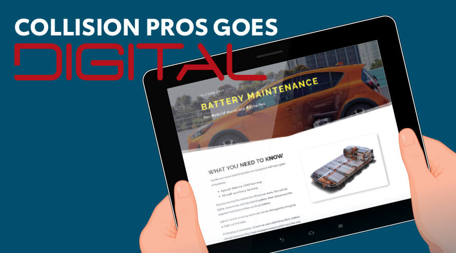 COLLISION PROS GOES DIGITAL