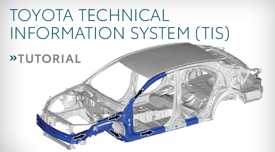 TOYOTA TECHNICAL INFORMATION SYSTEM (TIS)