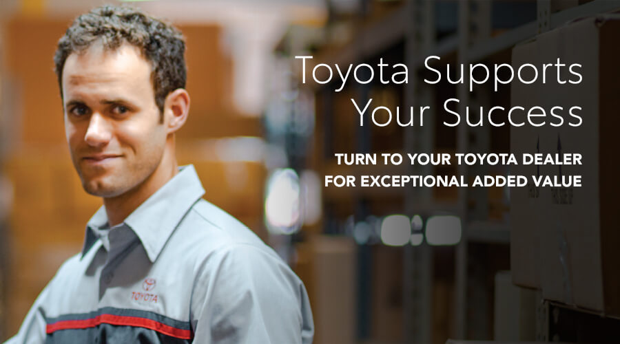 Toyota Supports Your Success