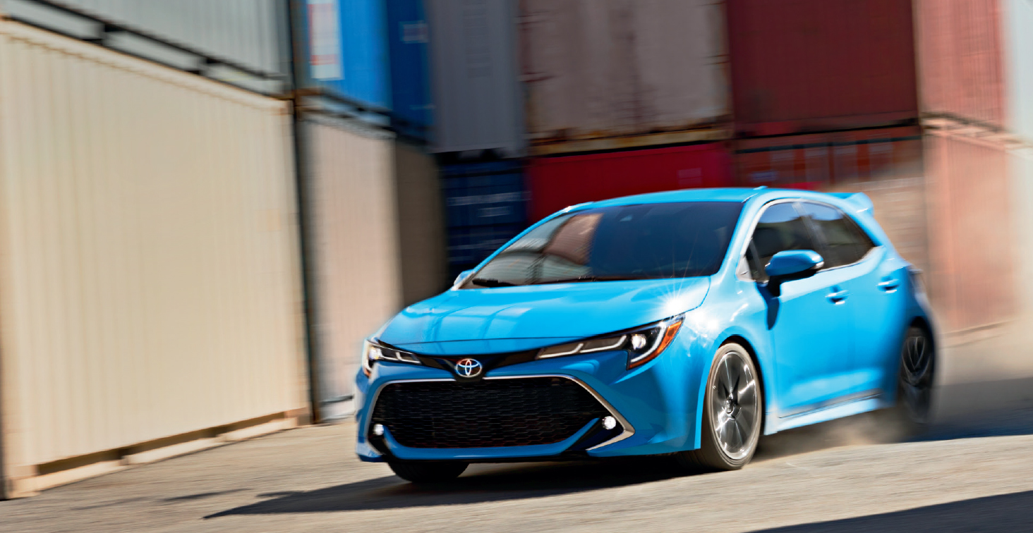 2019 Corolla Hatchback New Model Technical Preview