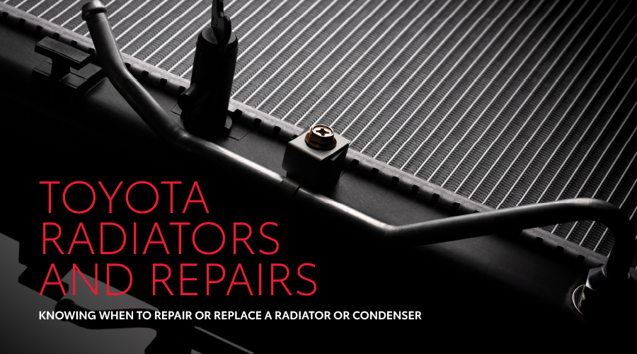 TOYOTA RADIATORS AND REPAIRS